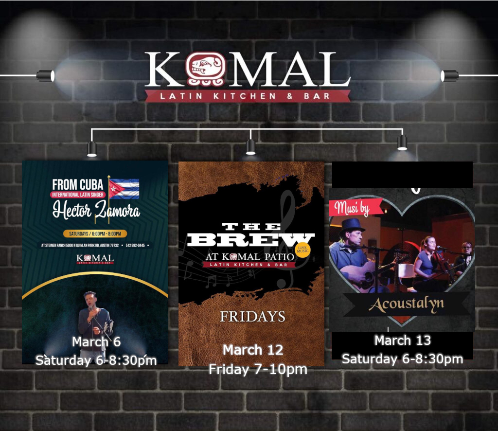 Upcoming Events March